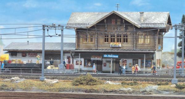 """Pola 650  Train Station """"ST. NIKLAUS"""""""