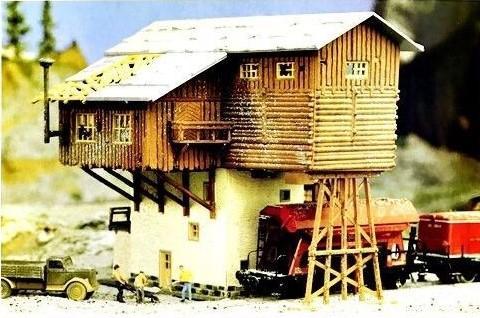 Pola 703  Gravel loading depot