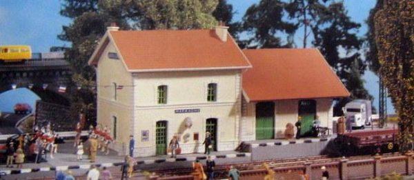 "Pola 743  Train Station ""MARMAGNE"""