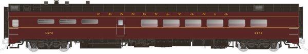 Rapido Trains  Pennsylvania   Pullman-Standard Lightweight Dining Car