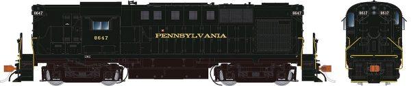 Rapido Trains 31029   Pennsylvania RR Diesel Locomotive Alco RS-11 (DC Silent)