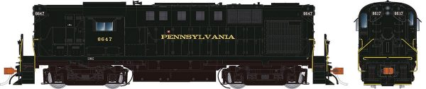 Rapido Trains 31530   Pennsylvania RR Diesel Locomotive Alco RS-11 (DCC w/ Sound)