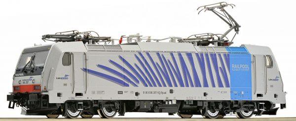 Roco 73654  Electric Locomotive BR 186, Railpool