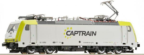 Roco 73656  Electric Locomotive BR 186, Captrain