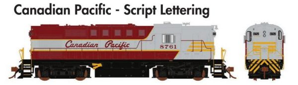 Rapido Trains  MLW RS-18 Canadian Pacific - Script Lettering
