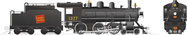 Rapido Trains 603504  Canadian National H-6-g Steam Locomotive