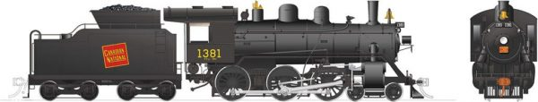 Rapido Trains 603505  Canadian National H-6-g Steam Locomotive