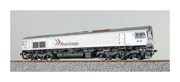 ESU 31282  Diesel Locomotive DE 62, RheinCargo (DCC Sound+Smoke, DC/AC)