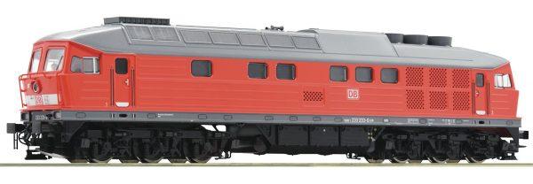 Roco 52497  Diesel Locomotive class 233, DB AG (DCC w/Sound)
