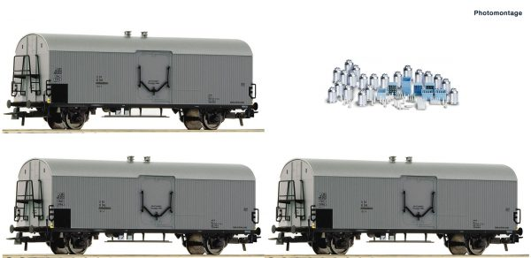 Roco 67118   3 piece set: Refrigerator wagons, ÖBB