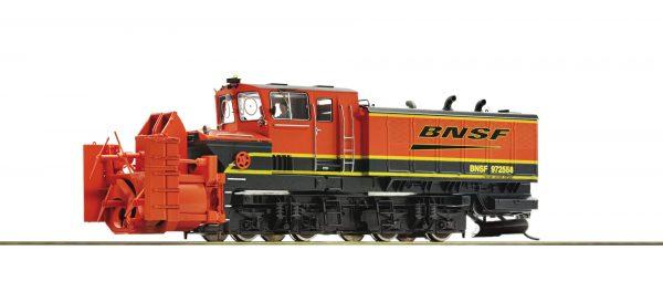 Roco 72806  Diesel Beilhack Rotary Snow Blower, BNSF (DCC w/Sound)
