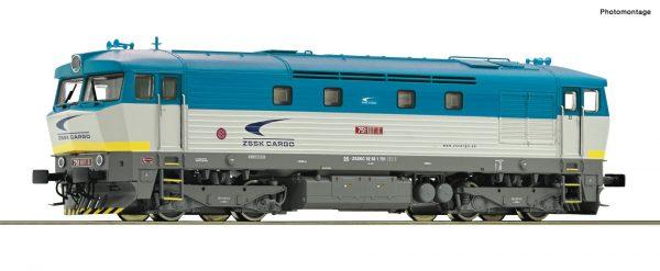 Roco 72969  Diesel locomotive 752 070-3, ZSSK (DCC w/Sound)