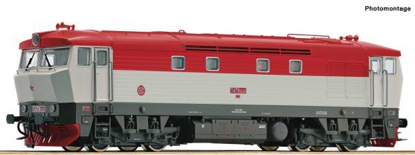 Roco 73123  Diesel locomotive class T 478.2, CSD (DCC w/Sound)