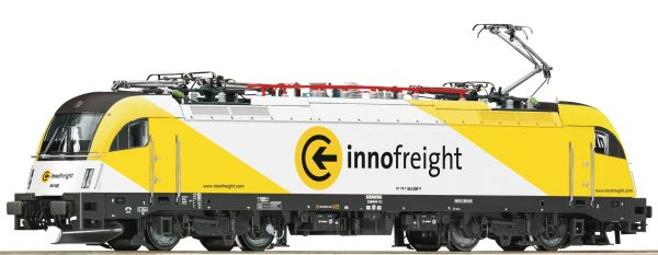 "Roco 73487  Electric locomotive 541 002-6 ""Innofreight"", SZ (DCC w/Sound)"