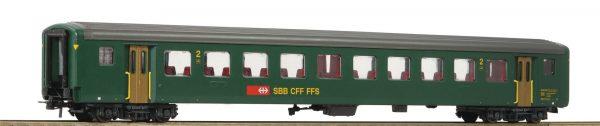 Roco 74572  2nd class fast train coach EW II, SBB