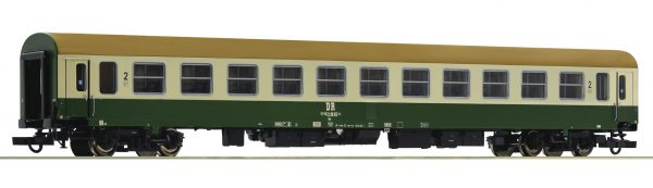Roco 74802  2nd class express train passenger coach, DR