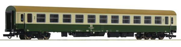 Roco 74803  2nd class express train passenger coach, DR