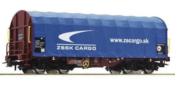 Roco 76441  Sliding tarpaulin wagon, ZSSK Cargo