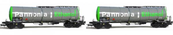 "B-Models VB-81050  2 Set Tank Wagon ""PANNONIA ETHANOL"", CZ"