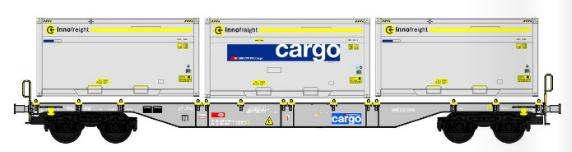 B-Models 90804.1  SBB Cargo Innofreight Wagon