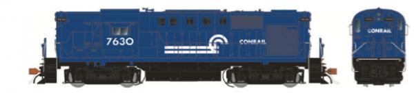 Rapido Trains 31004   Conrail (Blue) Diesel Locomotive Alco RS-11 (DC Silent)