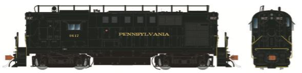 Rapido Trains 31023   Pennsylvania RR (w/Trainphone Antenna) Diesel Locomotive Alco RS-11 (DC Silent)