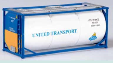 "B-Models LT206  20 Tank Container ""UNITED TRANSPORT"" Decorative Only"