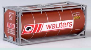 "B-Models LT208  20 Tank Container ""WAUTERS"" Decorative Only"
