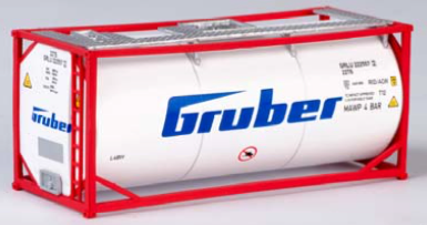 """B-Models LT210  20 Tank Container """"GRUBER"""" Decorative Only"""