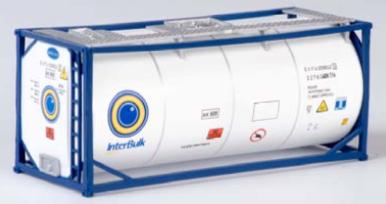 "B-Models LT219  20 Tank Container ""INTERBULK"" Decorative Only"