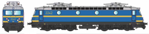 B-Models  VB3305.07  Electric locomotive class 22, SNCB (DCC w/Sound)