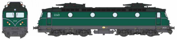 B-Models  VB3306.04  Electric locomotive class 22, SNCB  (AC Digital w/Sound)