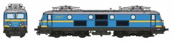 B-Models  VB3205.07  Electric locomotive class 25, SNCB (DCC w/Sound)