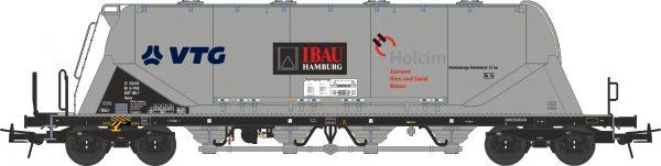 """NME 503601  Cement Silo Wagon Uacns """"VTG-Holcim-iBau"""""""