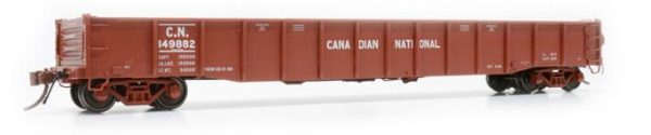 "Rapido Trains  52' 6"" Mill Gondola Canadian National Delivery #149788"