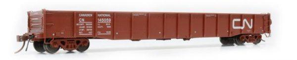 """Rapido Trains  52' 6"""" Mill Gondola CN Noodle #145037"""
