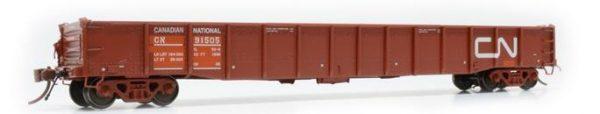 "Rapido Trains  52' 6"" Mill Gondola CN Maintenance of Way #91505"