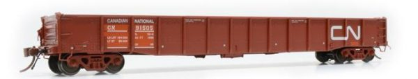 "Rapido Trains  52' 6"" Mill Gondola CN Maintenance of Way #91564"