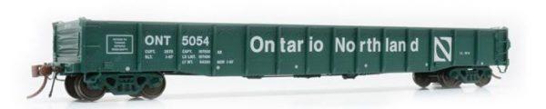 "Rapido Trains  52' 6"" Mill Gondola Ontario Northland − Progressive Set 2 #5077"