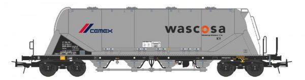 """NME 503724  Silo Wagon  Uacns 82m³  """"WASCOSA-CEMEX"""""""