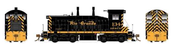 Rapido Trains  Denver & Rio Grande Western Diesel Locomotive SW1200