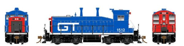 Rapido Trains  Grand Trunk (Red/Blue) Diesel Locomotive SW1200