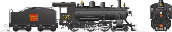 Rapido Trains 603511  Canadian National H-6-g Steam Locomotive