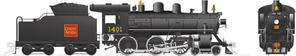 Rapido Trains 603514  Canadian National H-6-g Steam Locomotive