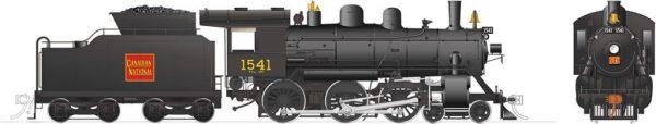 Rapido Trains 603516  Canadian National H-6-d Steam Locomotive