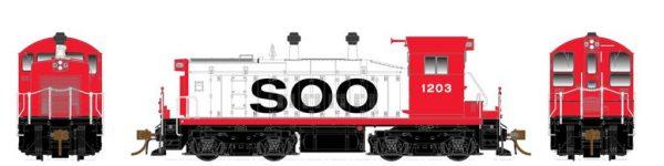 Rapido Trains  Soo Line (ex MN&S) Diesel Locomotive SW1200