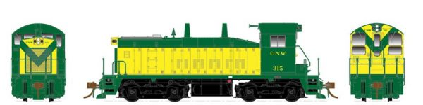 Rapido Trains  Chicago & North Western Diesel Locomotive SW1200