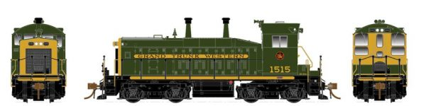 Rapido Trains  Grand Trunk Western (Delivery) Diesel Locomotive SW1200