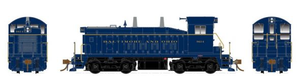 Rapido Trains  Baltimore & Ohio Western Diesel Locomotive SW1200