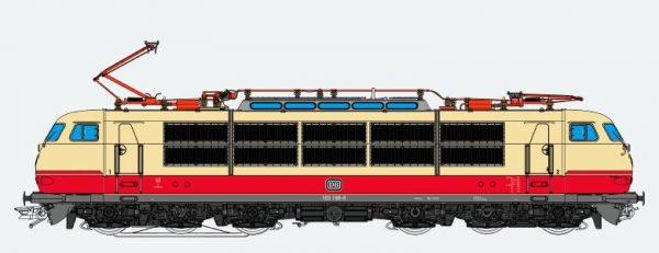 ESU 31171  Electric Locomotive class 103 TEE, DB (Digital Sound+Smoke, DC/AC)